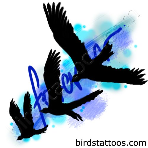 Black doves tattoo