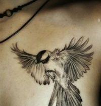 Dove black tattoo