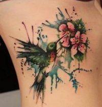 The hummingbird tattoo